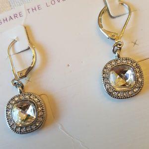 Lia sophia Earrings Austrian Crystals